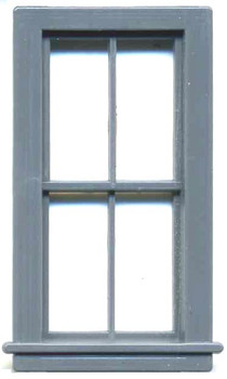 35″ x 66″ 4-PANE DOUBLE HUNG WINDOW