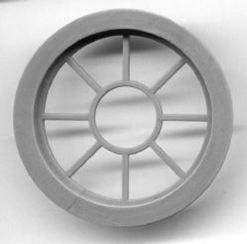 41″ DIAMETER. ROUND WINDOW-9 PANE