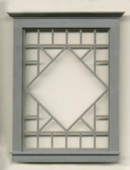 3.125″X4.38″ DIAMOND PATTERNED WINDOW