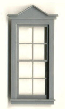 28″X26″ DOUBLE HUNG PEAKED WDW-8 PANE