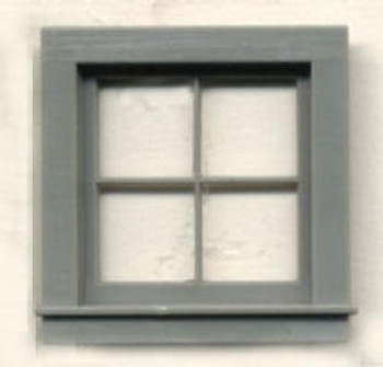 "4 PANE WINDOW includes pre-cut window ""glass"""