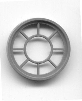 42″ DIAMETER ROUND WINDOW  9 LIGHT  (for masonry buildings)