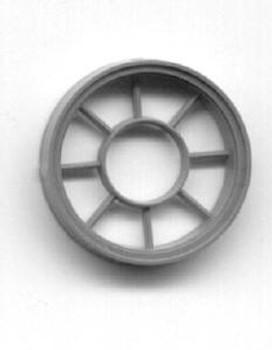 36″ DIAMETER ROUND WINDOW 9 LIGHT  (for masonry buildings)