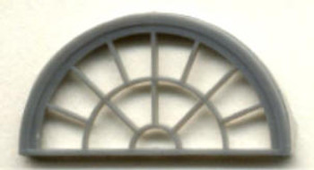 HALF ROUND WINDOW–13 LIGHT  (for masonry buildings)
