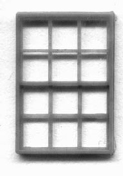 72″ x 102″ WINDOW SINGLE SASH, 12 LIGHT(for masonry buildings)