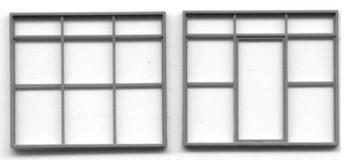 WAREHOUSE, FACTORY OFFICE DOOR AND WINDOW SET-115″ x 97″