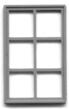 42″ X 72″ 6-PANE WINDOW (for masonry building)
