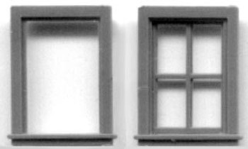 20″ x 30″ WINDOW SINGLE SASH, 4 LIGHT
