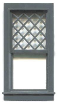 30″ x 66″ DIAMOND PANE WINDOW 1/1