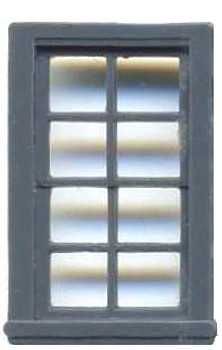 27″ x 48″ DOUBLE HUNG WINDOW 8 PANE