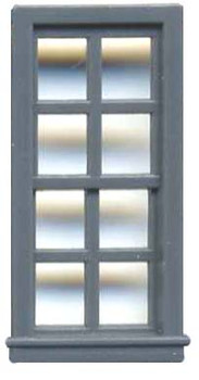 27″ X 64″ DOUBLE HUNG WINDOW 8 PANE