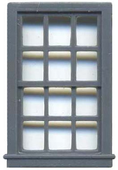 36″ X 64″ DOUBLE HUNG WINDOW 12 PANE