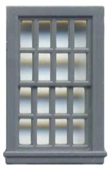36″ X 56″ DBL HUNG WINDOW 16 PANE