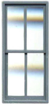 FACTORY WINDOW 44″ X 92″ DOUBLE HUNG 4 PANE (Masonry)