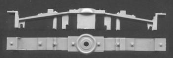 NARROW GAUGE BOX CAR BOLSTERS