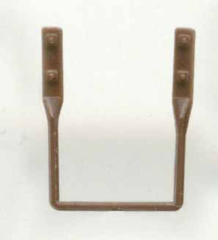 FREIGHT CAR STIRRUP STEPS-BROWN