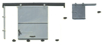 D&RGW 300 SERIES NARROW GAUGE CAMEL SIDE AND END DOOR SET