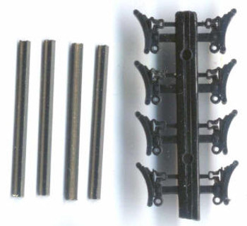 NARROW GAUGE BRAKE SHOES AND BEAMS