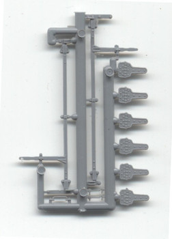NARROW/STANDARD GAUGE REEFER HARDWARE (1 SET)