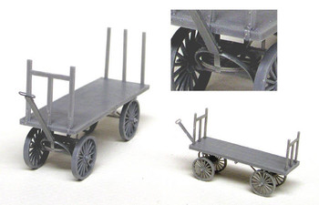 4 WHEEL BAGGAGE WAGON KIT