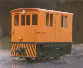 GE 23 TON BOX CAB DIESEL ELEC LOCO  DUMMY VERSION-NARROW GAUGE (KIT)