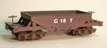 GILPIN TRAM SMALL ORE CAR KIT-LESS TRUCKS (KIT) `