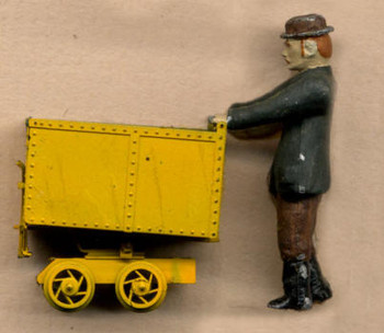 18″ ROTARY MINE CAR (1) figure sold separately–#3090