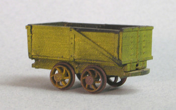 ONE TON END DUMP COAL CARS (2)