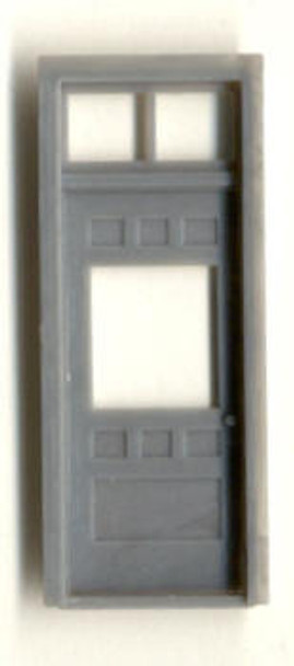 RGS STYLE DEPOT DOOR W/ WINDOW AND TRANSOM 36″X84″