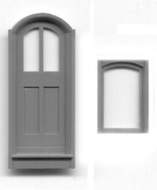 SR&RL NARROW DOORS WITH SIDE WINDOWS