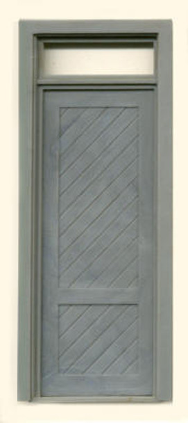 SHEATHED SINGLE DOOR W/TRANSOM
