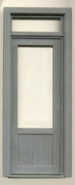 36″ SINGLE DOOR -W/WINDOW- TRANSOM