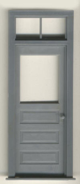 3 PANEL DOOR WITH 2 PANE TRANSOM