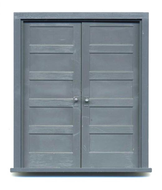 5-PANEL DOUBLE DOOR with frame