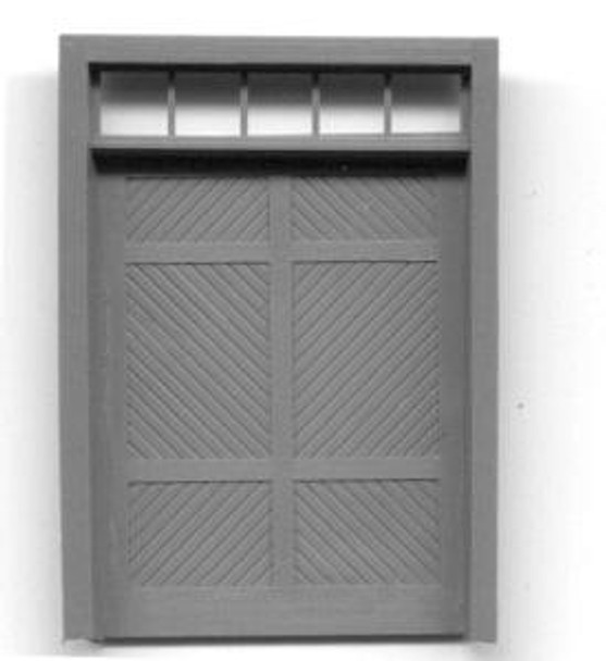 RGS STYLE FREIGHT DOOR W/TRANSOM