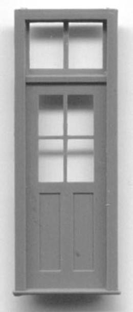 DOOR-4 PANE WINDOW WITH TRANSOM