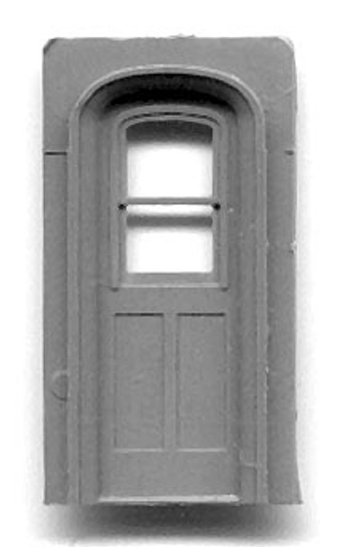 NARROW GAUGE COACH ARCH-TOP END DOORS