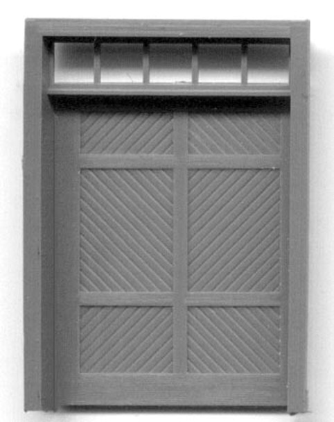 RGS STYLE DEPOT FREIGHT DOOR WITH TRANSOM RGS Style Depot Door and Frame separate pieces
