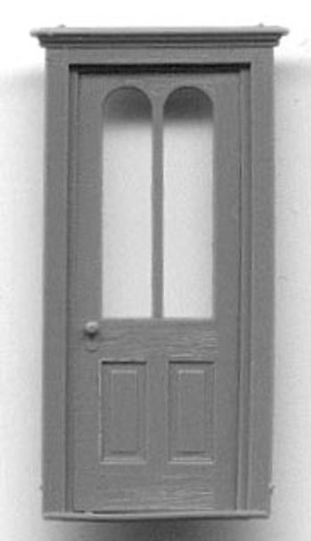 RESIDENCE DOOR W ARCHED WINDOWS