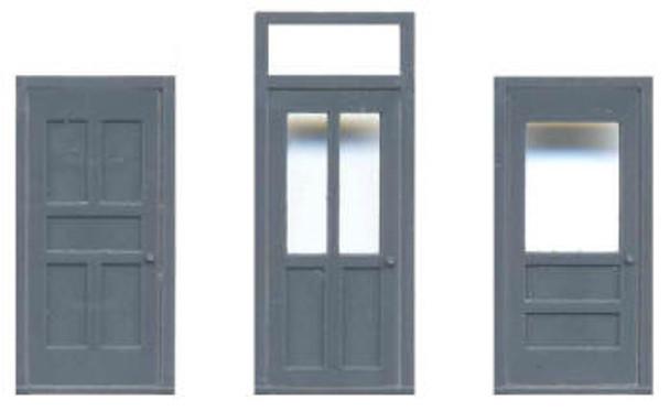 36″ DOOR ASST FRAME WITH TRANSOM FRAME W/O TRANSOM