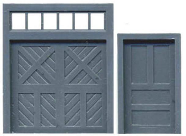 DOOR ASSORTMENT: PERSONNEL DOOR BAGGAGE DOOR