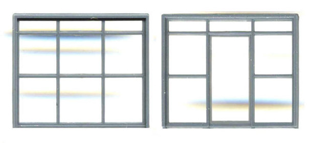 WAREHOUSE/FACTORY OFFICE DOOR, WINDOW SET 115″ X 97″ (Masonry)