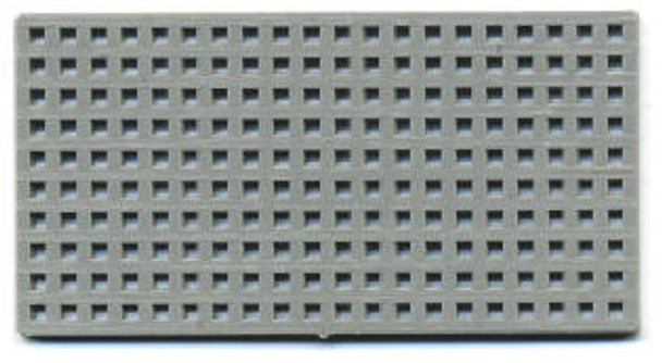 Grate with .100″ holes