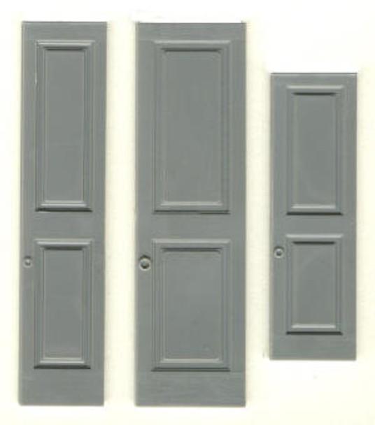 PANELED SHUTTERS  (fits window #3931)