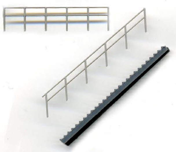 STAIRS WITH RAILINGS