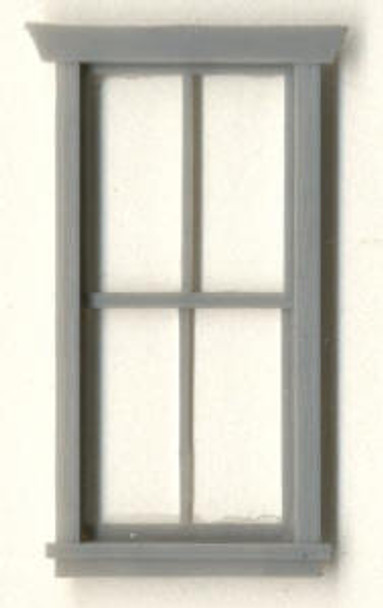 30″x 69″ STATION WINDOW DOUBLE HUNG–2/2 LIGHT