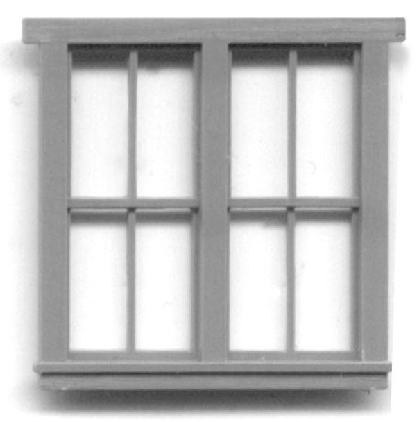 63″ x 69″ DOUBLE WINDOW -8 PANE