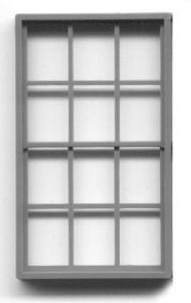 42″x 72″ FACTORY WINDOW DOUBLE HUNG-6/6 LIGHT (for masonry buildings)