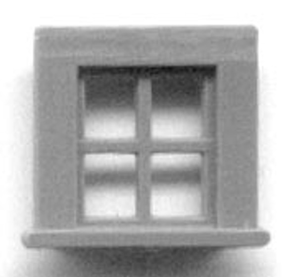 SHED OR ATTIC WINDOW