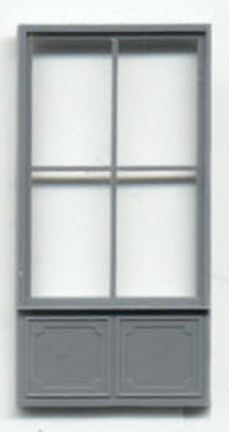COMMERCIAL STOREFRONT DOUBLE WINDOW